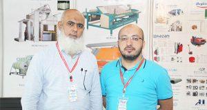 Farooq Zakaria and Tuncay DEMİRCİ at GTex Lahore
