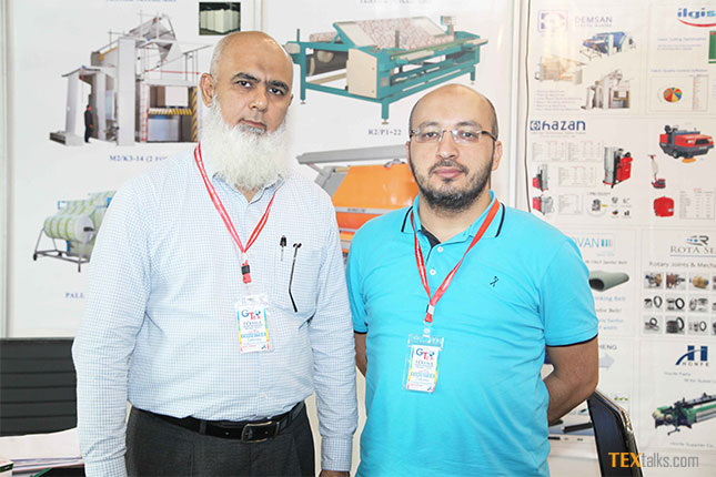 Farooq Zakaria and Tuncay DEMİRCİ at GTex Lahore