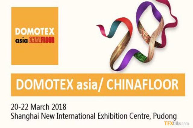 DOMOTEX asia/CHINAFLOOR 2018
