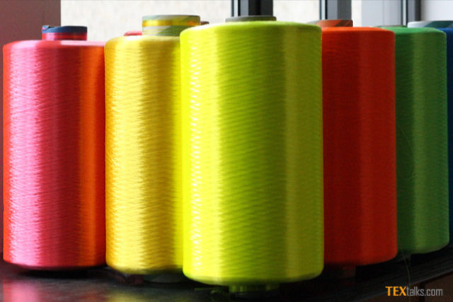 Import of polyester filament yarn