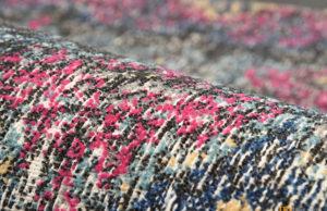 Used look carpet sample woven on ALPHA 500 Series