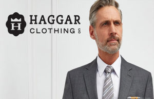 Haggar Clothing named #1