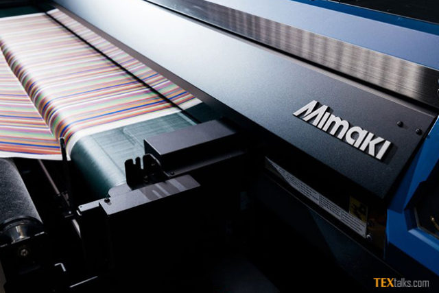 Mimaki beauty of digital textile printing at Heimtextil 2018