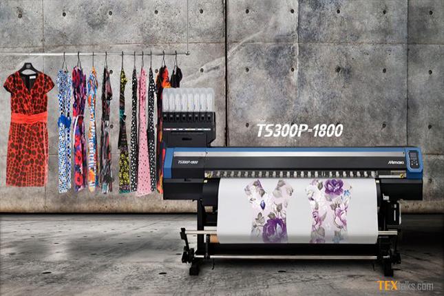 Digital printing by Mimaki