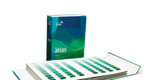 Color Atlas by Archroma®, a library of 4,320 color swatches, in six volumes. Photo Credit: Archroma
