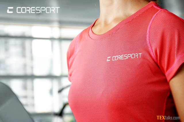 Shirt keep cooler the high-intensity workout