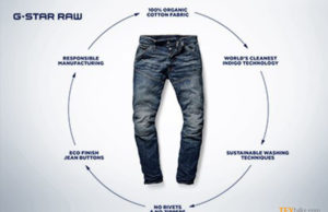 G-Star Raw most sustainable jeans ever