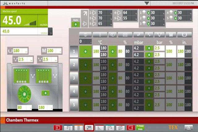 New Qualitex 800 visualization for Monforts