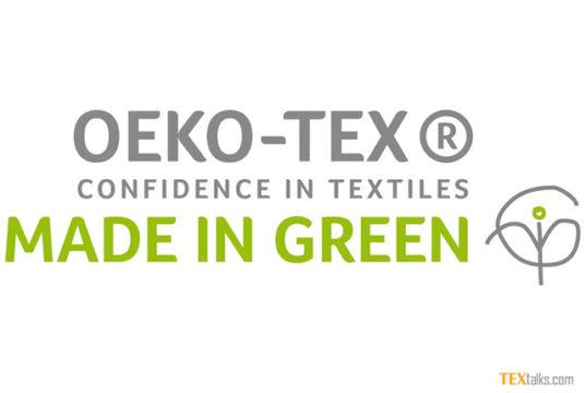 Oeko-Tex - Made in Green label at Heimtextil