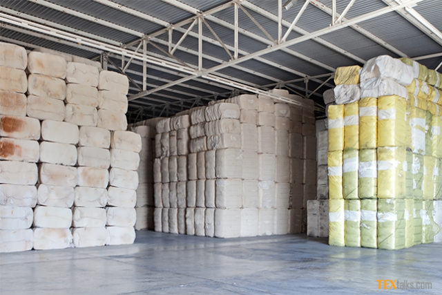 Cotton arrival at ginneries