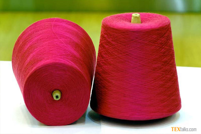 Cotton yarn exports in 11 months