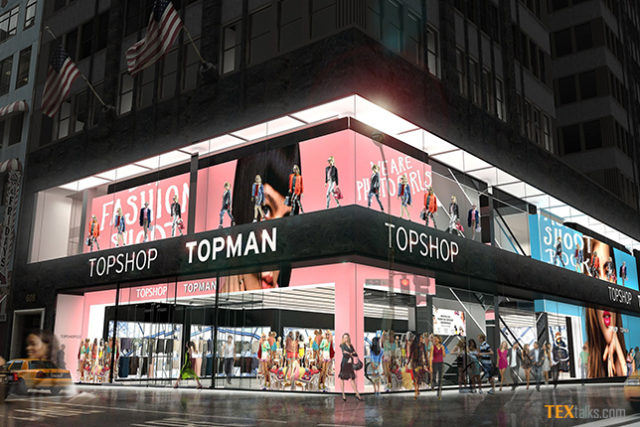 Topshop in China
